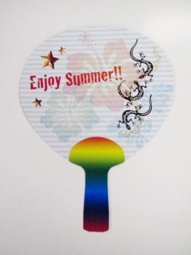 夏フェス、屋外イベントで盛り上がれる団扇