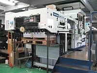 使用機械:自動平盤打抜き機2号機